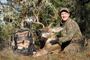 Scott Haugen and a trophy blacktail