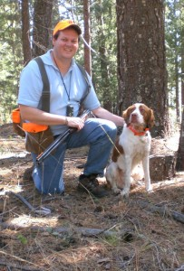 Ziggy and me in El Dorado NF