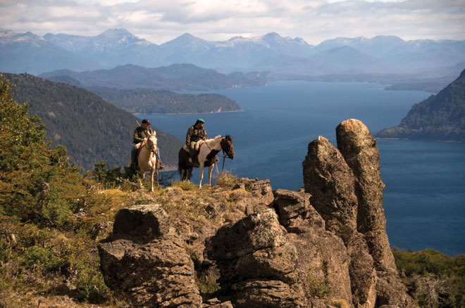 A sampling of the dramatic views the hunting lands of Argentina offer