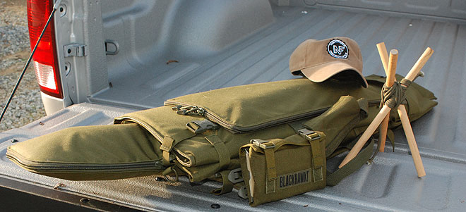BLACKHAWK!®'s Long Gun Pack Mat with HawkTex™, it's a gun case...